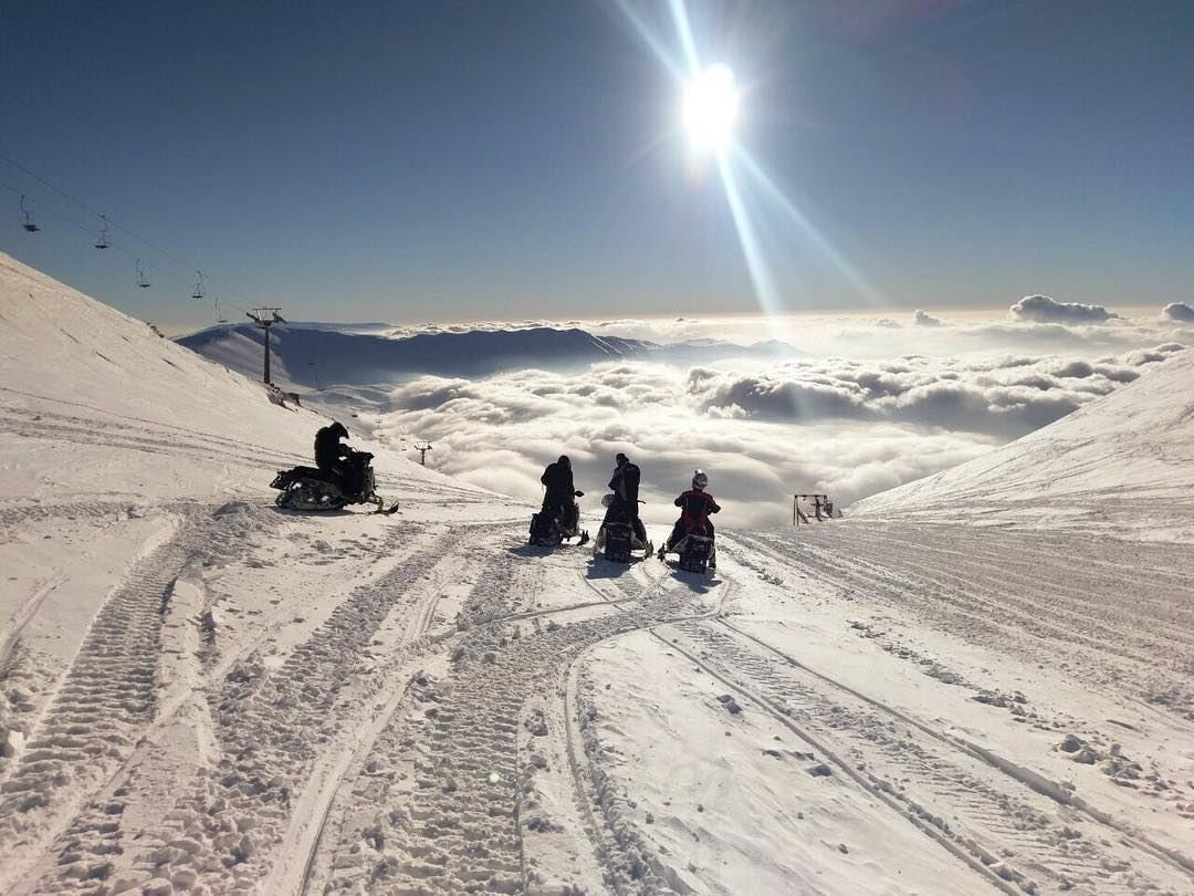 Don't forget to book your Snowmobile lessons in the middle of the week by...