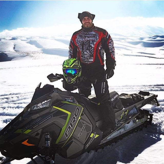 Perfect day for Snowmobile @rizkyoussef  polaris  fxr  polarisrider ...