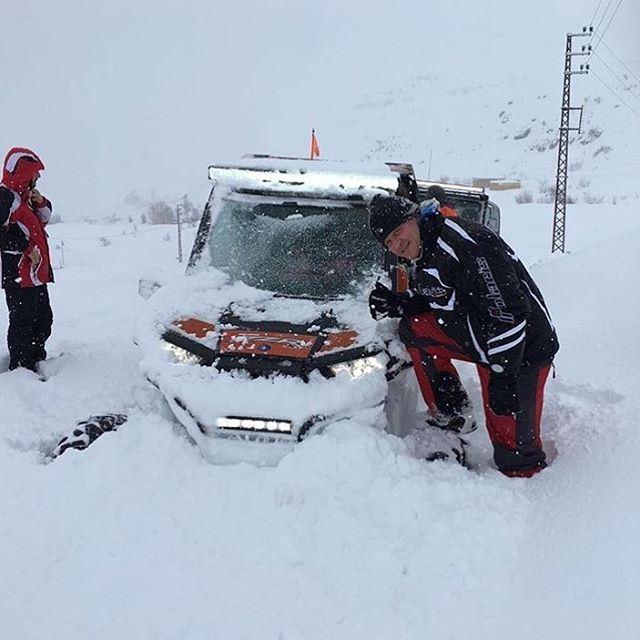 Fully covered in Snow ❄❄@imad1samaha1 polaris fxr polarisrider ...