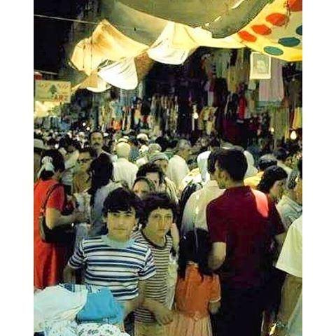 بيروت سوق سرسق ١٩٧٠،