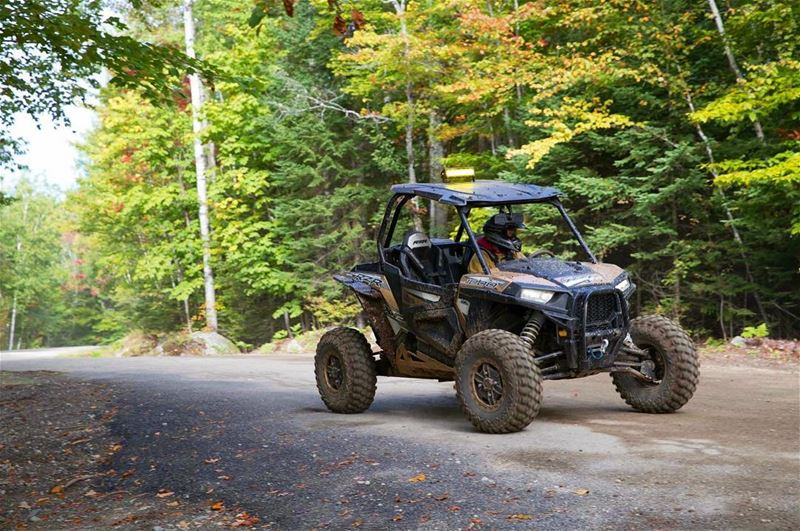 Riding in Fall Colors 🍂🍁🌾🍃 polarislebanon  polaris  rzr  rzr2017 ...