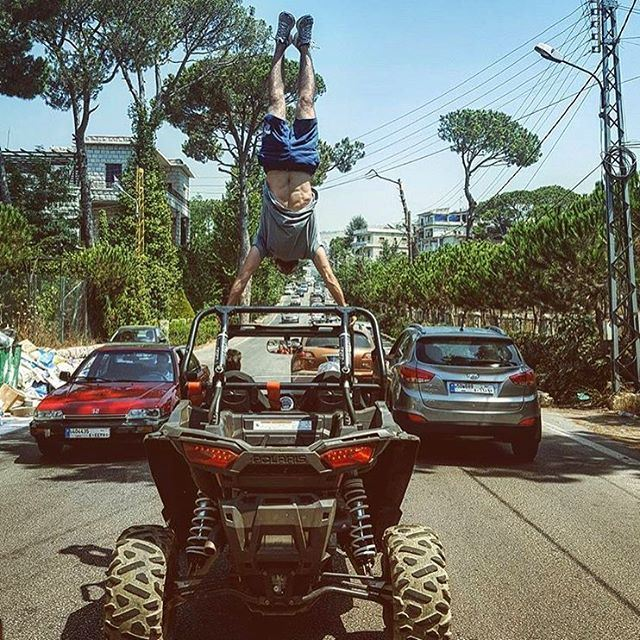 Stretching ! By @charbelsawaya polarislebanon  polaris  rzr  rzr2017 ...
