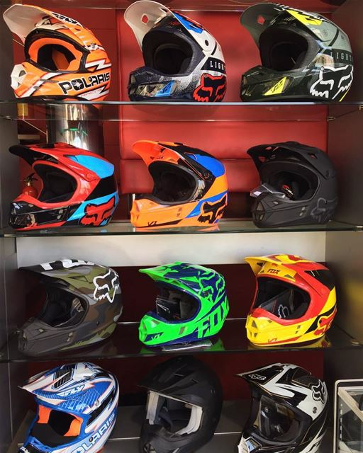 Colorful Collection! helmets  helmet  flyracing  flyracinghelmets ...