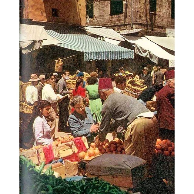 Beirut Noureyeih Souk 1967 .