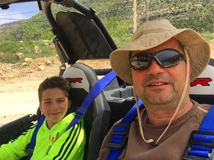 Father & Son Off-Road Ride ! Beautiful shot by Antoine Abi Hanna father ...