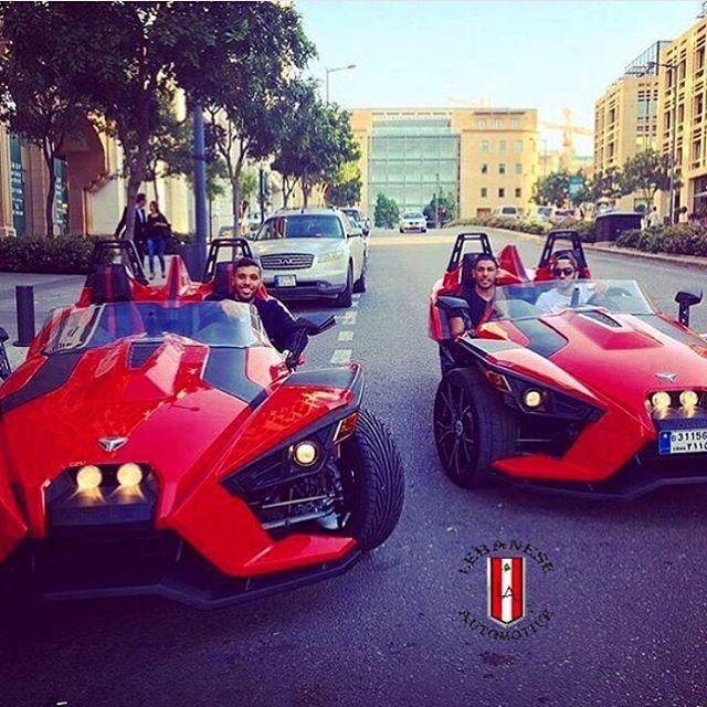 Great Shot by Lebanese Automotive ! Enjoying their ride in Polaris...