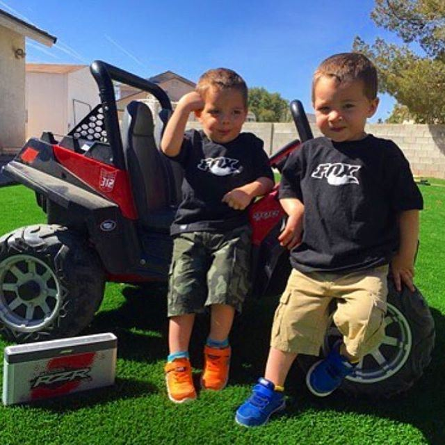 Sweet Good Morning ! cute kids sweet rzr polarisrzr fox foxedition...