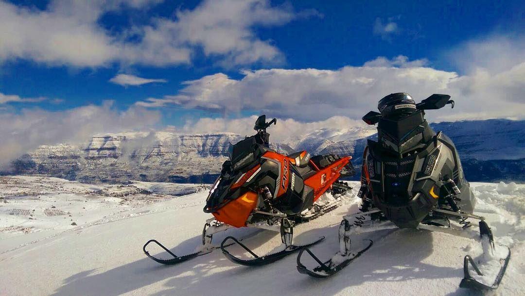 Beautiful View! onroad snowmobiling snowmobile snow lebanon douma ...