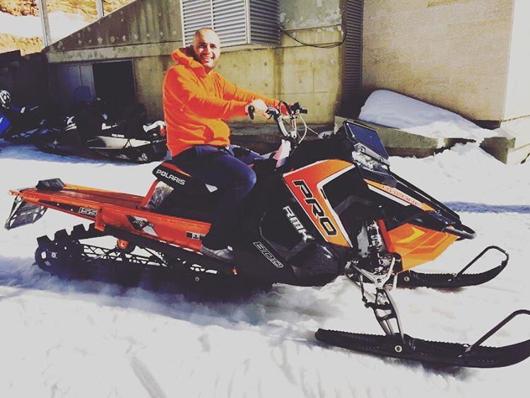 Congratulations Mohammad Tarraf on your new RMK Pro ! Let the Snowmobile...