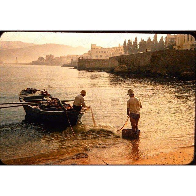 Beirut Saint George Bay 1954 .