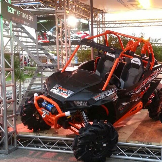 The Beauty of RZR 1000 - HIGHLIFTER Edition- For more info : +961 1 644...