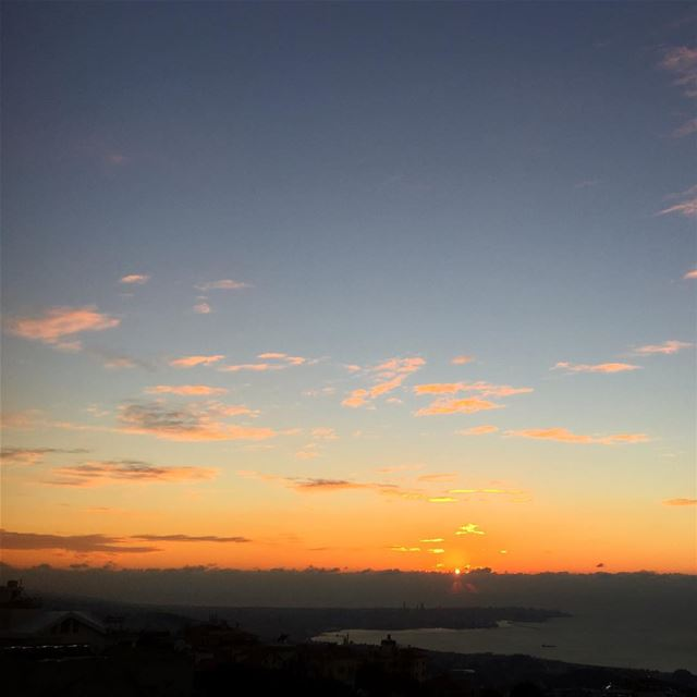 sunset sunsetporn magical colorful magical beirut mediterranean ... (Mediterranean Sea)