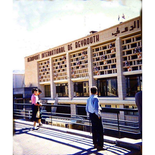Beirut International Airport 1956 .