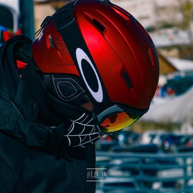 A snowboarder's moment oakley oakleys snowboarding snowboardingfashion... (Mzaar Kfardebian Ski Resort)