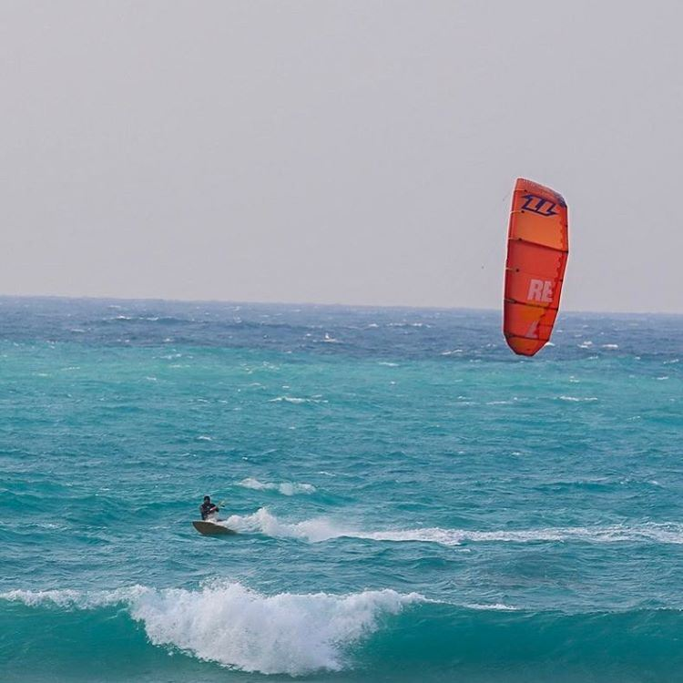 The ultimate moment when im heading back upwind to my start off point! It... (LaGuava Resort)