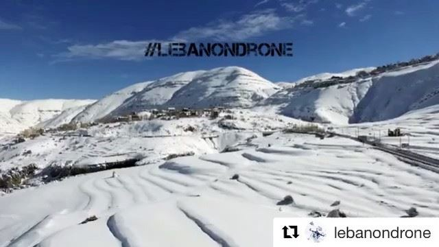 Repost @lebanondrone with @repostapp・・・@lebanondrone wishes everyone a... (Mzaar Kfardebian)
