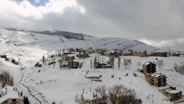 A teaser from @lebanondrone for this year's Christmas Season. ... (Lebanon)