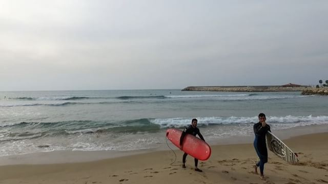 Part 1 of a great day spent with @surflebanon at Jiyeh Beach. Great... (Surf Lebanon)