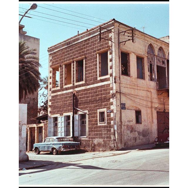 Beirut Achrafieh - 1971 .