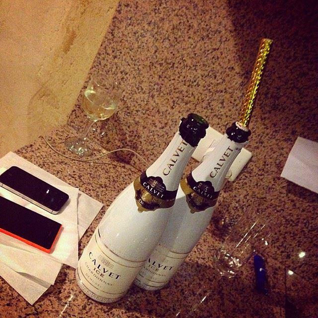 calvet demi-sec champagne white party chill night faraya lebanon ...