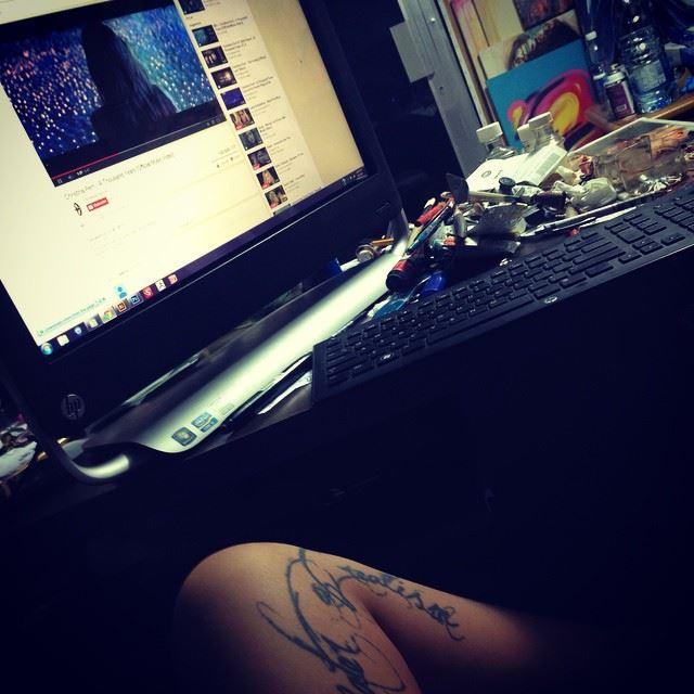 inked process hp youtube music dj chill thousand years cheistinaperri...