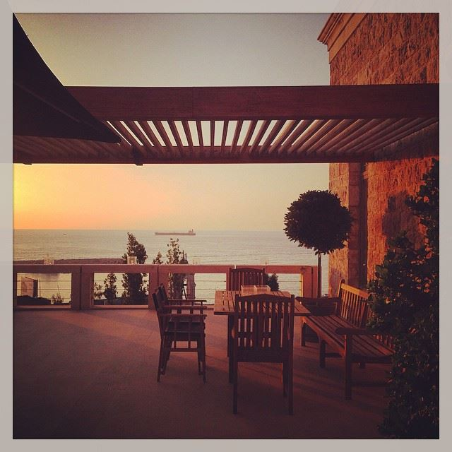 bar private party dbayeh lebanon sea view sunset wednesday chill...