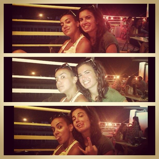 fun night out tuesday happy rock it pose flash friends beirut lebanon ...