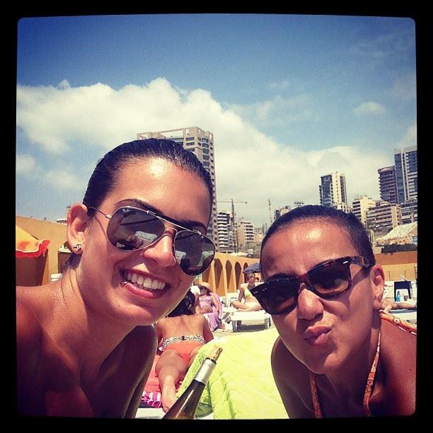 @monidiab beach tan beirut lebanon sun sunny summer friends friendship...