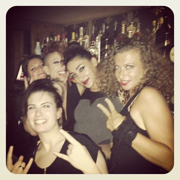 uberhaus bar barmaids co-workers amazing fun people love you all will...