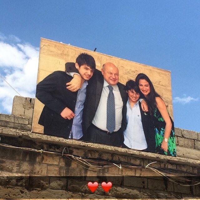 مطرحكن بالقلب بيبقى ... ❤️❤️ MyriamSkaff ميريم_سكاف elias_skaff الياس_س (Zahlé, Lebanon)