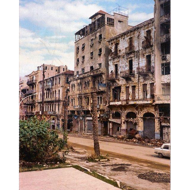 بيروت ساحة الشهداء عام ١٩٩٣،