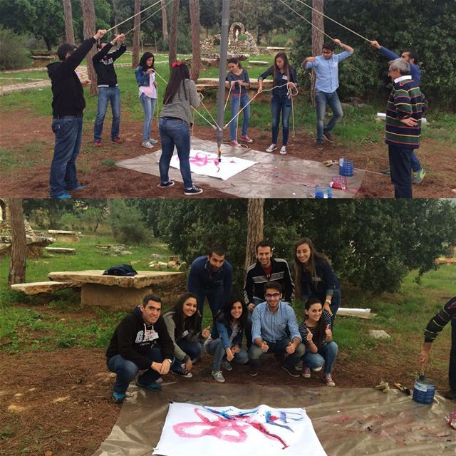 Team Building training BLF bank Bsalim ... (Deir Saydet El Bir)