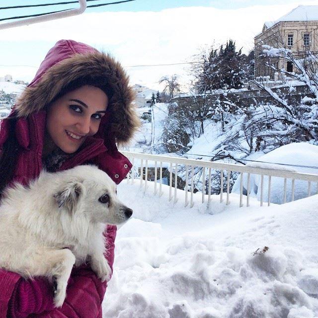 ❄️⛄️ tb Diva white snow lebanon zahlé (Zahlé, Lebanon)