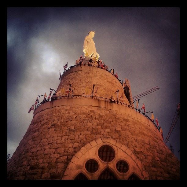 lady of lebanon ...