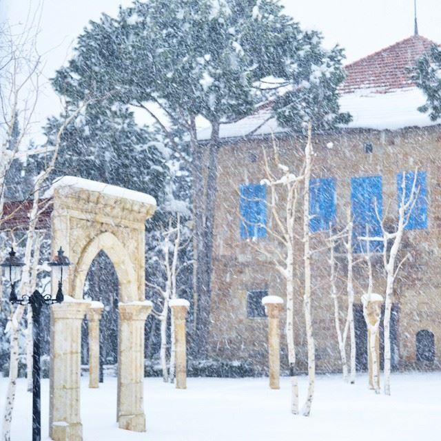 sir Lebanon north snow ❄❄❄❄❄❄❄❄ Rachid❄❄❄أنفاسنا في الأفق حائرة..تفتش (سير الضنية)