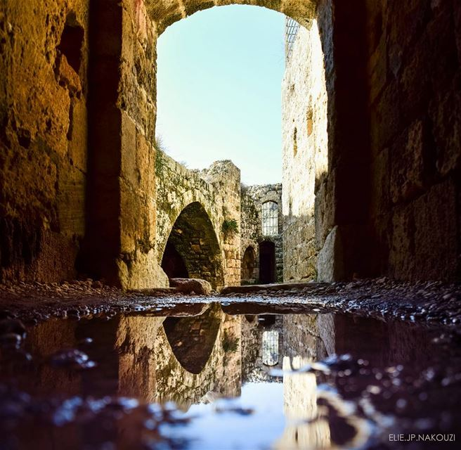 Reflection into the past.. nikon lebanonlovers proudlylebanese ...