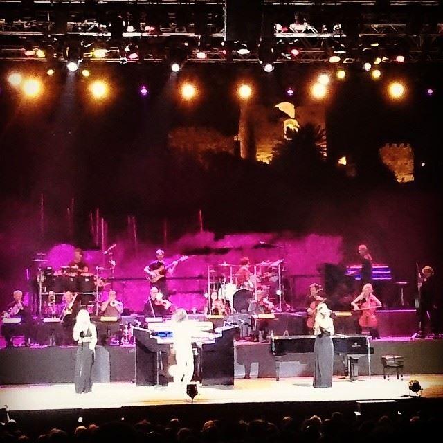 Yanni Amazing Concert.. 🎵🎶 Yanni concert amazing stunning ... (Byblos, Jbeil)