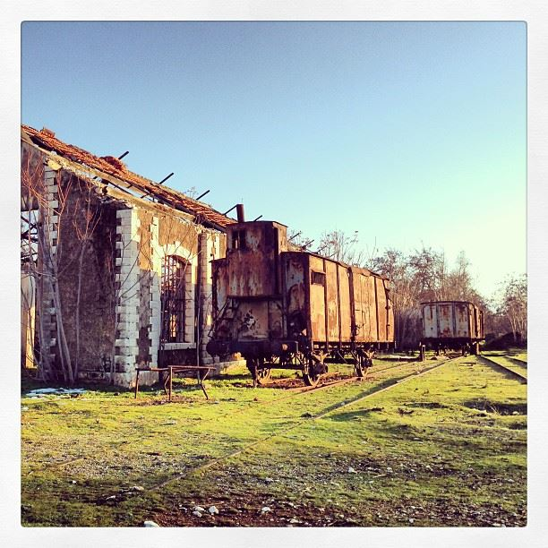 📷 Rayak Old Train Station, Lebanon 🚂 lebanon rayak old train ...