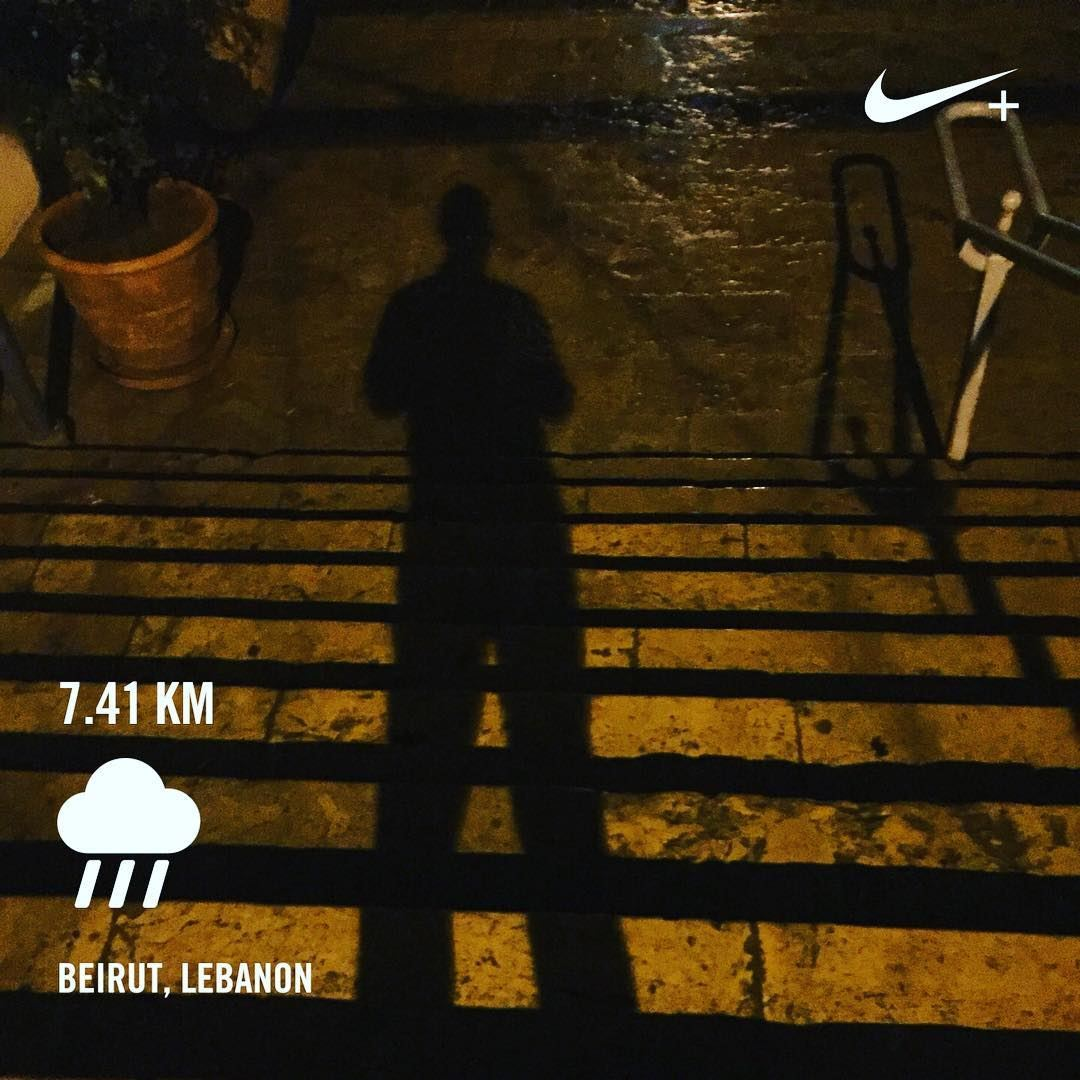 When your legs can't run anymore, run with your heart! comerunwithus nrc... (Saint Nicolas Stairs, Gemayze)