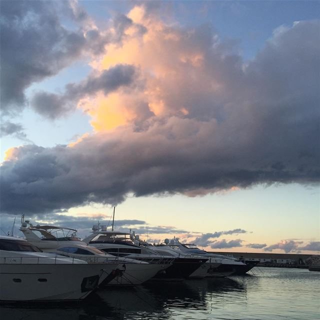 Nofilter  Sunset  TB  Bay  LiveLoveBeirut  LiveLoveLebanon  Sea  Yacht ... (Zaytona Bay)