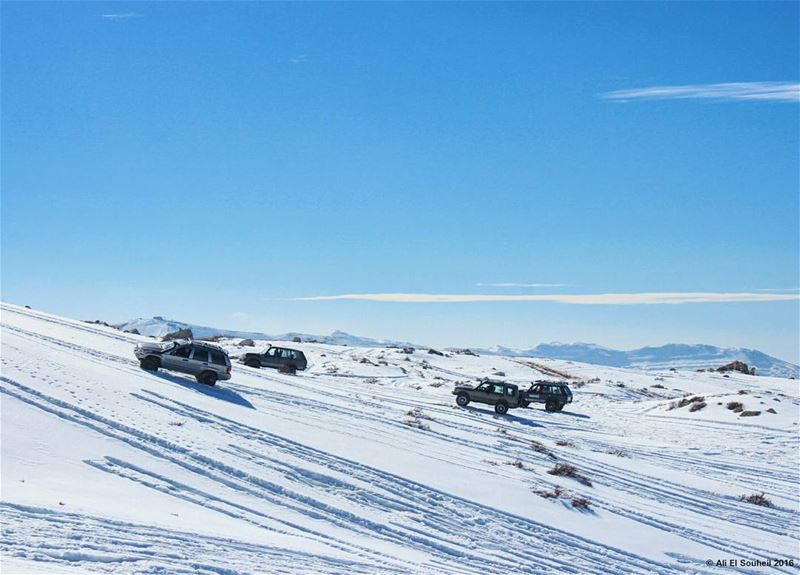 tb snow mountains winter offroad 4x4 sky faraya lebanon colorful... (Faraya Faqra)