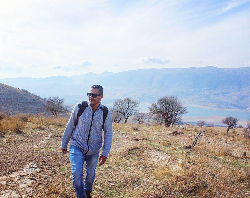 karounlake bekaa valley lake mountains nature me keepsmiling ... (Karoun, Al Beqqa, Libnan)