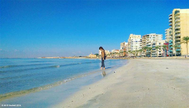 sour beach southlebanon sand fall sea sky weekend lebanon ... (Sour (tyr))