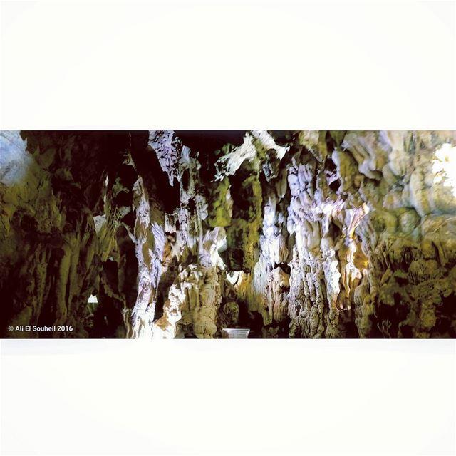 zahlangrotto northlebanon grotto cave amazing sunday weekend ... (مغارة الزحلان-الضنية)