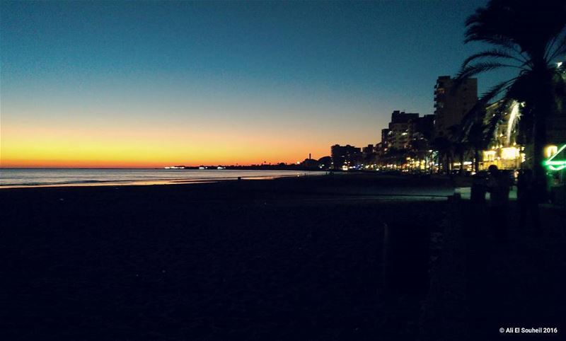 My sour 😍 weekend sunset tyr sour southlebanon beach sky summer ... (Sur, Al Janub, Lebanon)