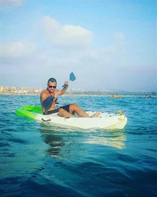 kayak kayaking beach summer tyre southlebanon fun lebanon ... (Sour Beach)