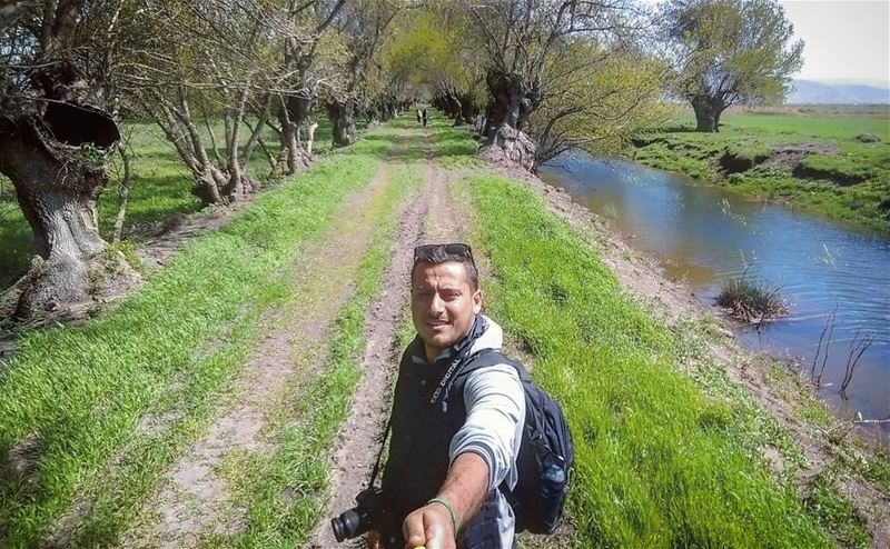 tb ammiq ammik bekaa me selfie water swamp ... (Ammik_west Bekaa)