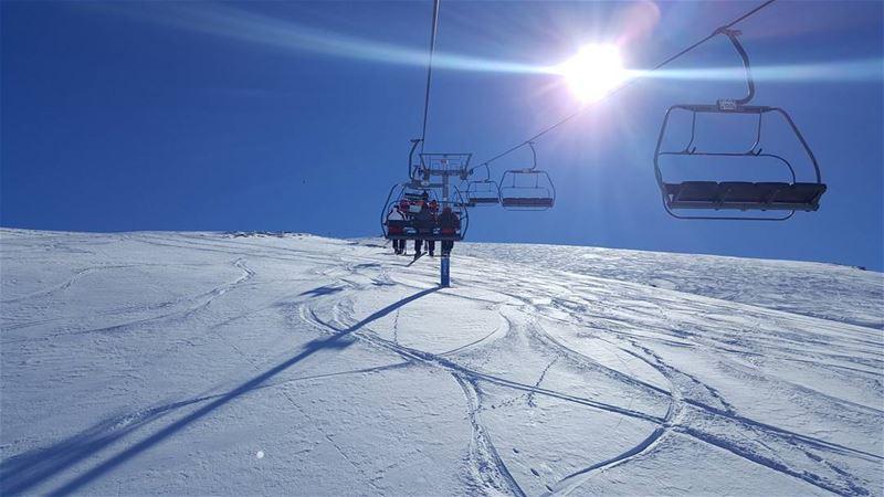 😄 ski skilift skilebanon bluesky sun outdoors photography ...