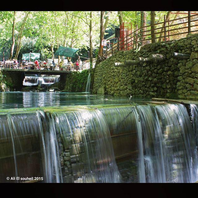 baaqline river cold water nature lebanese lebanon colorful ... (Baaqlîne, Mont-Liban, Lebanon)