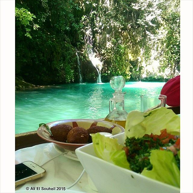 today launch lebanon river water nature lebanese food colorful ... (Baaqlîne, Mont-Liban, Lebanon)